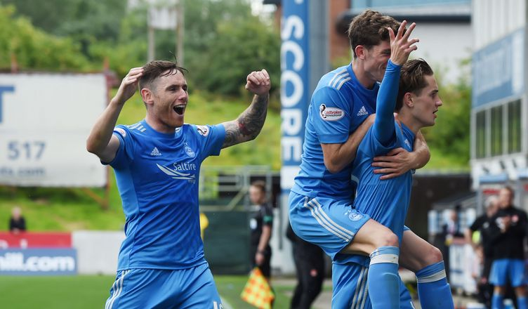 Dons win seven goal thriller at Firhill