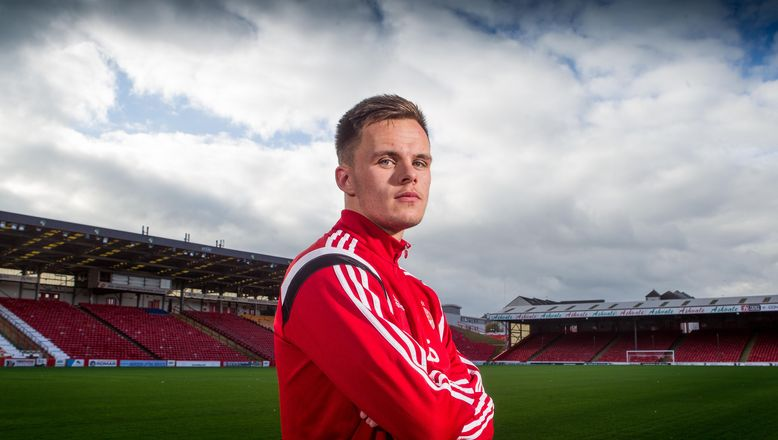 Lawrence Shankland Lawrence Shankland Interview Aberdeen FC