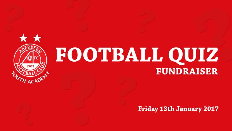 Raise funds for Aberdeen FC Youth Academy
